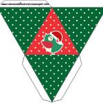 Caixa Pirâmide Passarinho Natal: