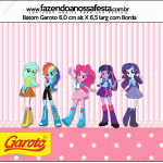 Rótulo Batom Garoto Equestria Girls (My Little Pony):