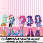 Rótulo Passatempo Equestria Girls (My Little Pony):