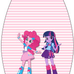 Rótulo Esmalte Equestria Girls (My Little Pony):