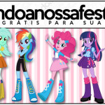 Rótulo Lápis Equestria Girls (My Little Pony):