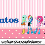 Rótulo Mentos  Equestria Girls (My Little Pony):