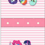 Rótulo Mini Talento  Equestria Girls (My Little Pony):