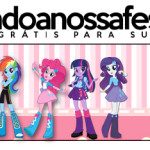 Rótulo Pote Papinha  Equestria Girls (My Little Pony):
