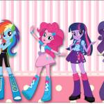 Rótulo Copinho de Brigadeiro  Equestria Girls (My Little Pony):