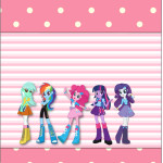 Rótulo Pé de Moleque Yoki  Equestria Girls (My Little Pony):
