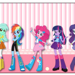 Rótulo Squezze  Equestria Girls (My Little Pony):