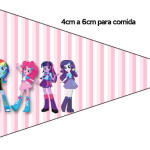 Bandeirinha  Equestria Girls (My Little Pony):