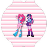 Enfeite Canudinho  Equestria Girls (My Little Pony):