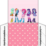 Envelope CD DVD  Equestria Girls (My Little Pony):