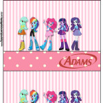 Rótulo Chiclets Adams  Equestria Girls (My Little Pony):