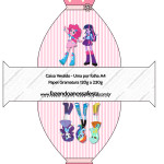 Caixa Vestido  Equestria Girls (My Little Pony):