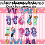 Saquinho de Balas  Equestria Girls (My Little Pony):