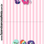 Convite Pirulito  Equestria Girls (My Little Pony):
