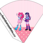 Cone Guloseimas  Equestria Girls (My Little Pony):