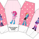 Caixa China in Box  Equestria Girls (My Little Pony):