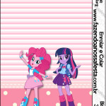 Rótulo Bisnaga Brigadeiro  Equestria Girls (My Little Pony):