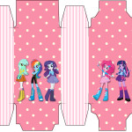 Caixa Sabonete  Equestria Girls (My Little Pony):