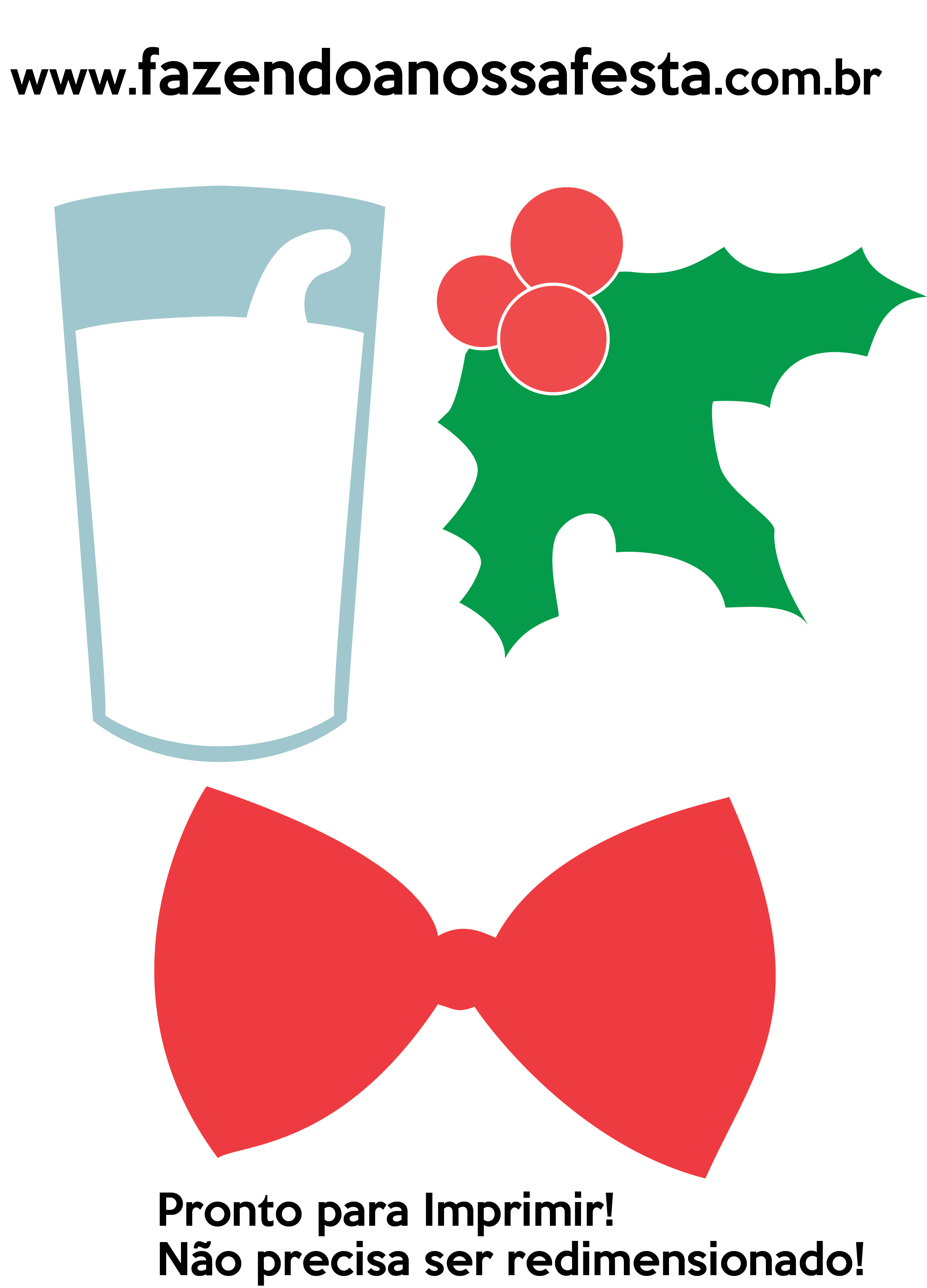 Plaquinhas E Aderecos Para Natal Gravata Fazendo A Nossa Festa