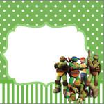 Mini Confeti Tartarugas Ninjas: