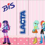 Rótulo Bis Duplo  Equestria Girls (My Little Pony):