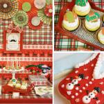 Ideias para Festa de Natal com o Tema Bigodes!