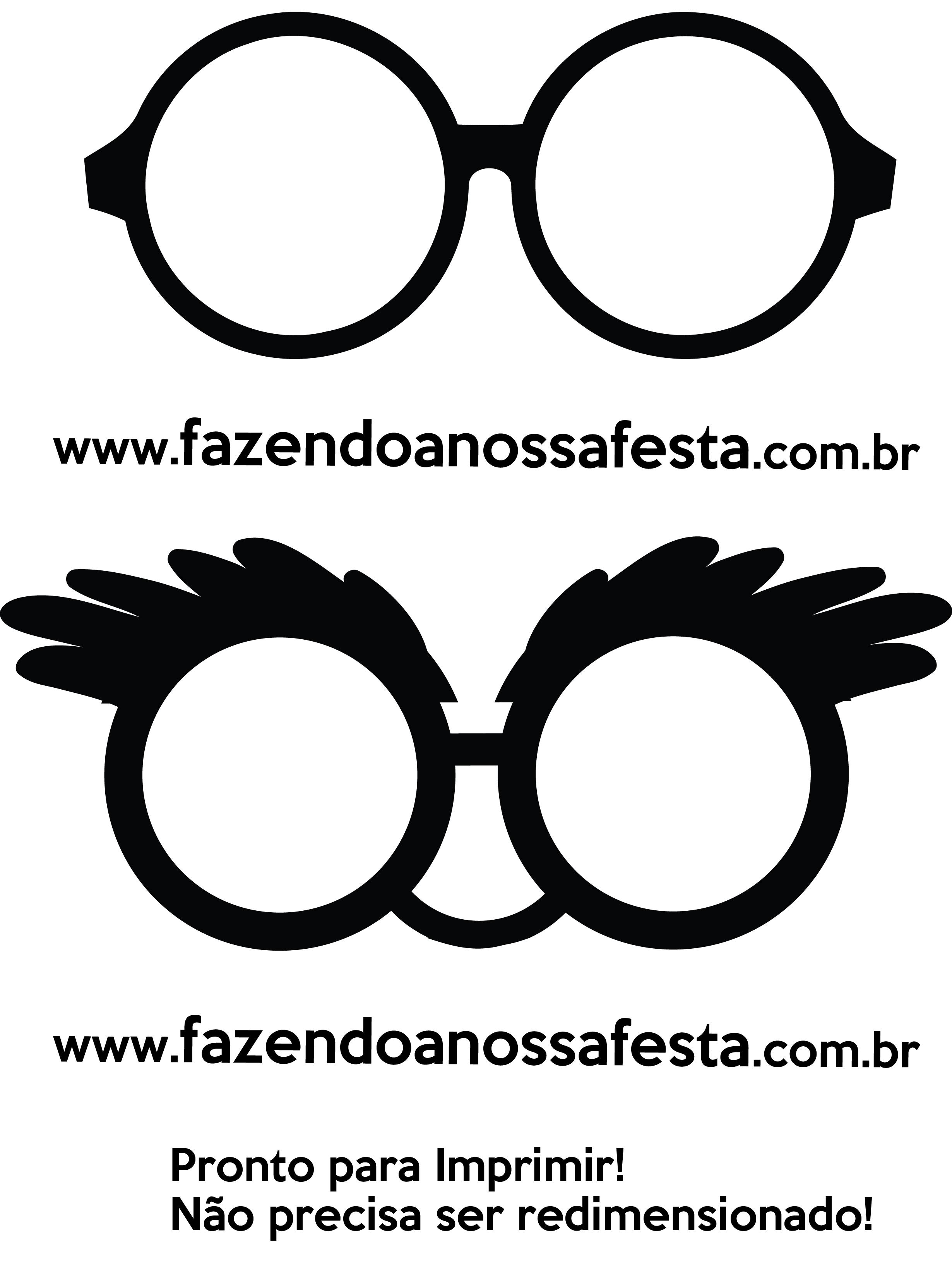 Plaquinhas E Aderecos Para Natal Oculos Papai Noel Fazendo A