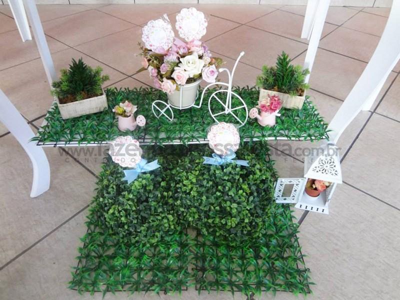 Festa tema Jardim Encantado: