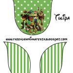 Tulipa Tartarugas Ninjas: