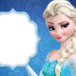 Convite e Cartão Frozen Disney - Uma Aventura Congelante: