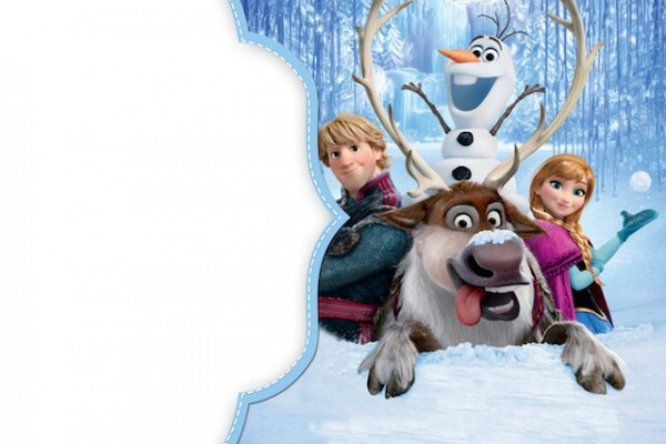 Convite Frozen:
