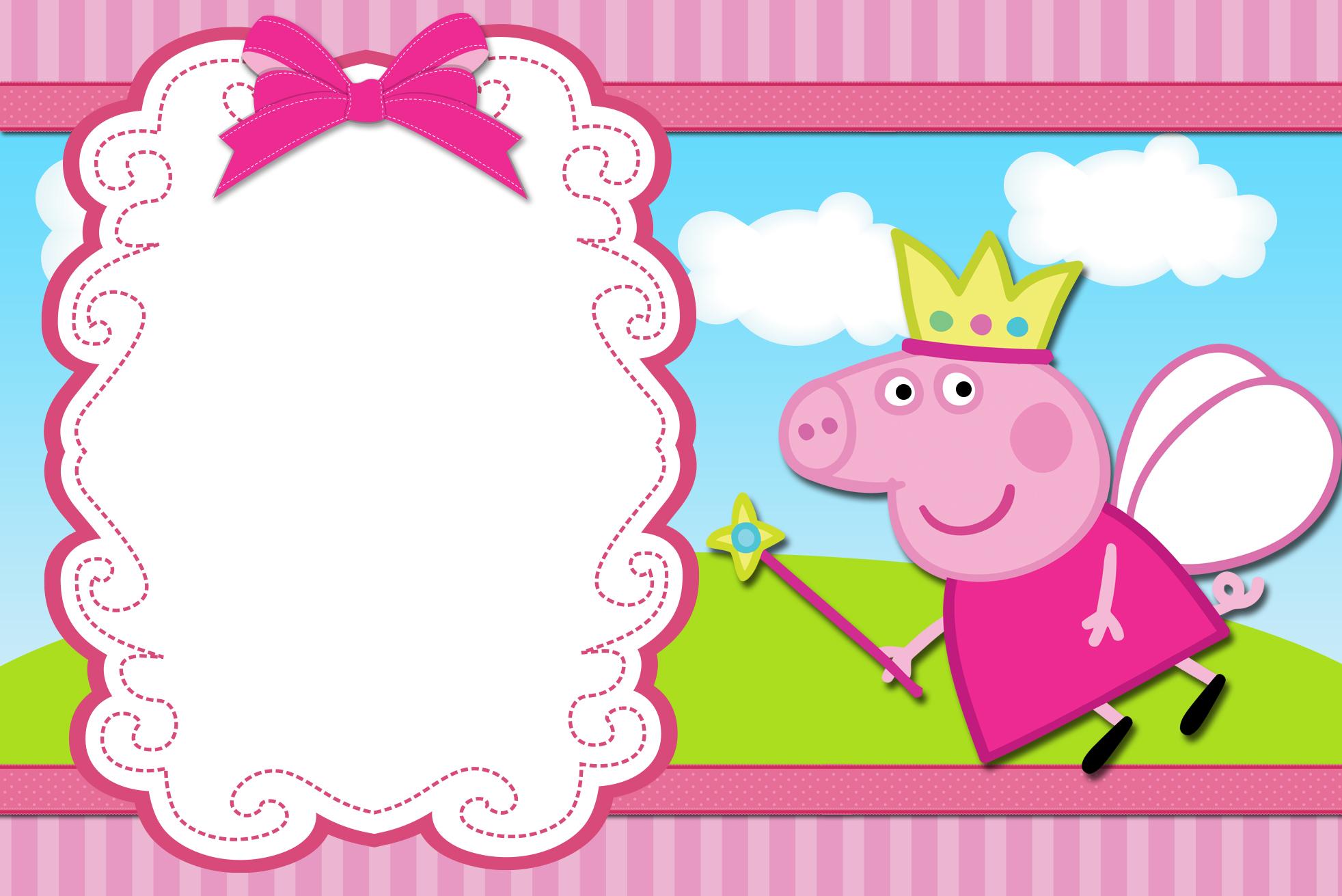 Открытка с днем рождения со свинкой ребенка девочку
