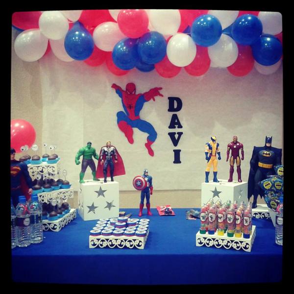 Festa Super Heróis: