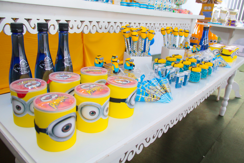 festa minions kit infantil