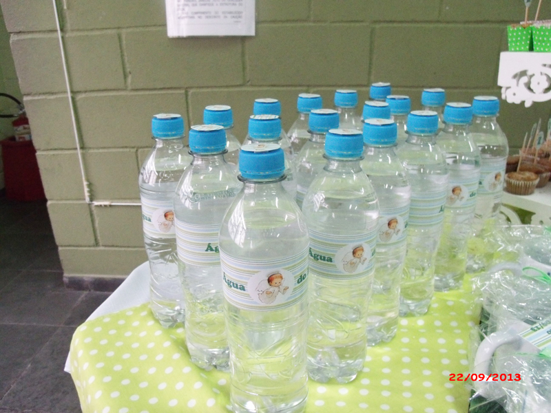 Garrafinha de Água: