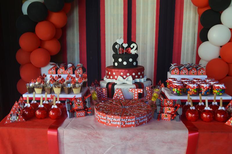 Tema Minnie Vermelha – Festa da Leitora Deise R Mocellin Leffa!
