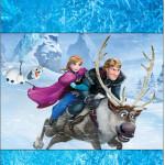 Rótulo Pé de Moleque Yoki Frozen Disney - Uma Aventura Congelante: