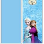 Menu Frozen Disney - Uma Aventura Congelante: