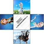 Forminhas Docinhos Frozen Disney - Uma Aventura Congelante: