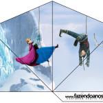 Cone Guloseimas 4 lados Frozen Disney - Uma Aventura Congelante: