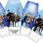 Caixa China in Box Frozen Disney - Uma Aventura Congelante: