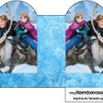 Caixa Coração Frozen Disney - Uma Aventura Congelante: