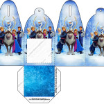 Caixa Frozen Disney - Uma Aventura Congelante: