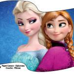 Bandeirinha Frozen Disney - Uma Aventura Congelante: