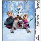 Rótulo Bisnaga Brigadeiro 15gr Frozen Disney - Uma Aventura Congelante: