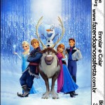 Rótulo Bisnaga Brigadeiro Frozen Disney - Uma Aventura Congelante: