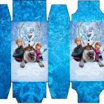 Caixa Sabonete Frozen Disney - Uma Aventura Congelante: