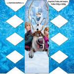 Caixa de Balas Frozen Disney - Uma Aventura Congelante: