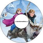 CD DVD Frozen Disney - Uma Aventura Congelante: