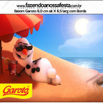 Rótulo Batom Garoto Frozen Disney - Uma Aventura Congelante: